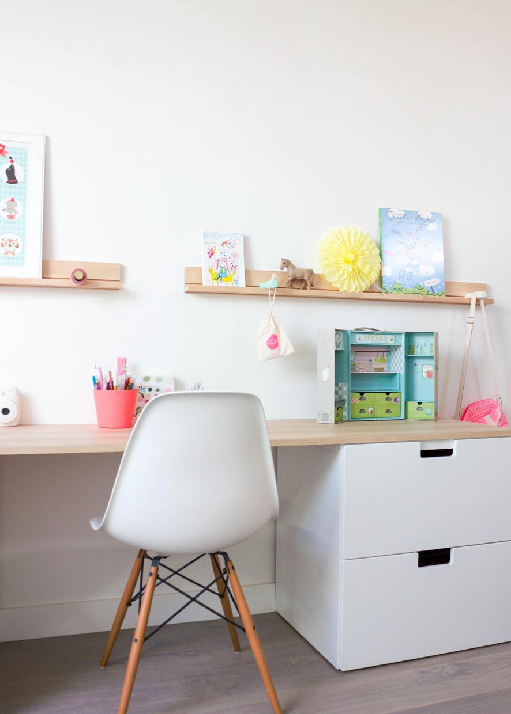 Bureau Plan De Travail déco bureau enfant - peekitmagazine
