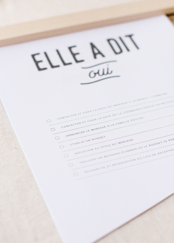 printable planning mariage